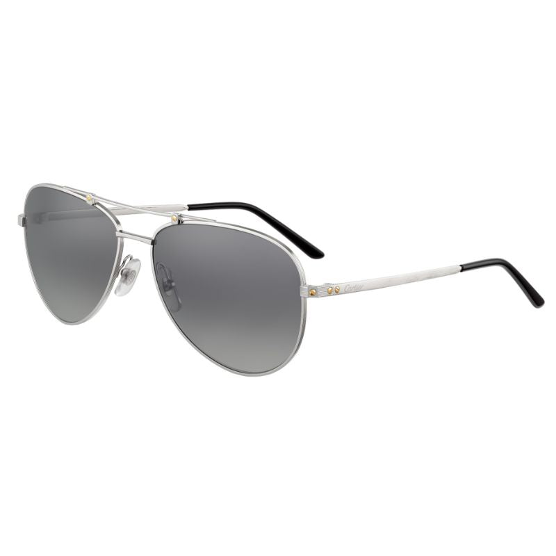 Lunettes de soleil unisexes Cartier - CT0083S-002 59-Daily Steals