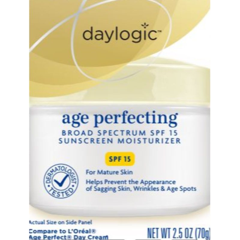 Daylogic Age Perfecting Broad Spectrum SPF 15 Sunscreen Moisturizer-Daily Steals