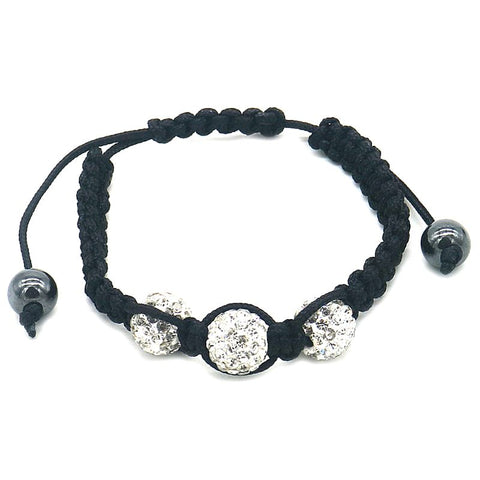 Shamballa Pave Crystal Fashion Wrap Bracelet-Daily Steals