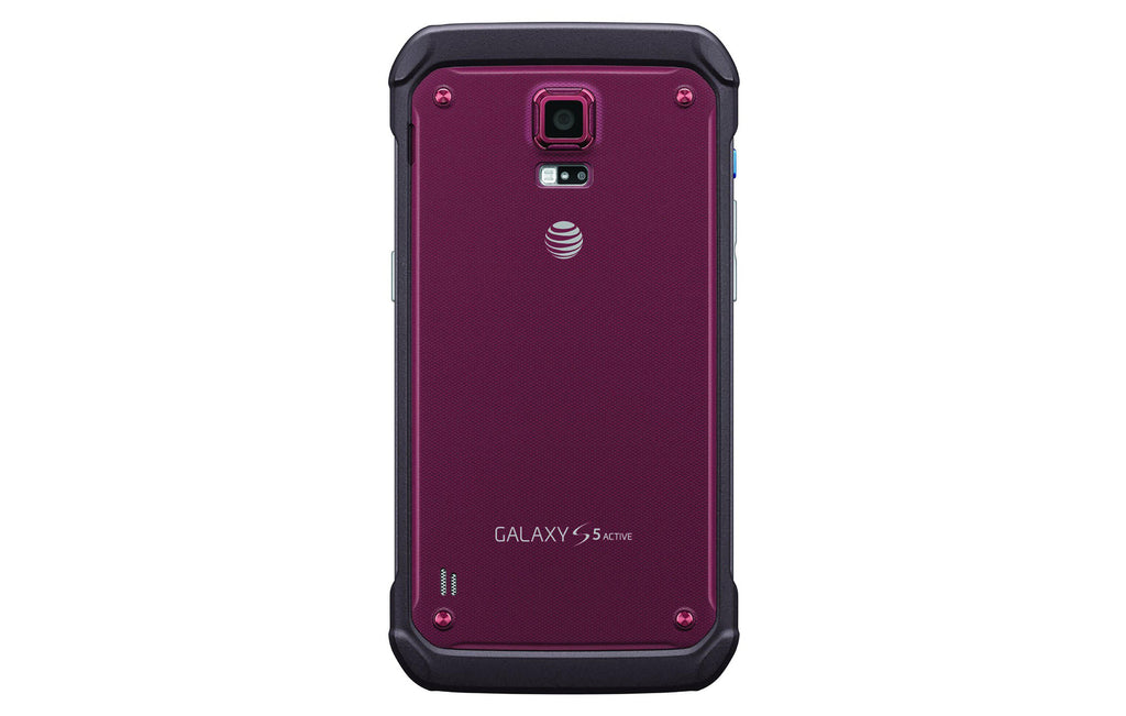 Samsung Galaxy S5 Active G870A 16 GB AT&T olåst GSM 4G LTE - Ruby Red (renoverat)