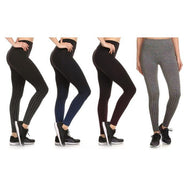 Women's Active Fleece Lined Performance Leggings-Daily Steals