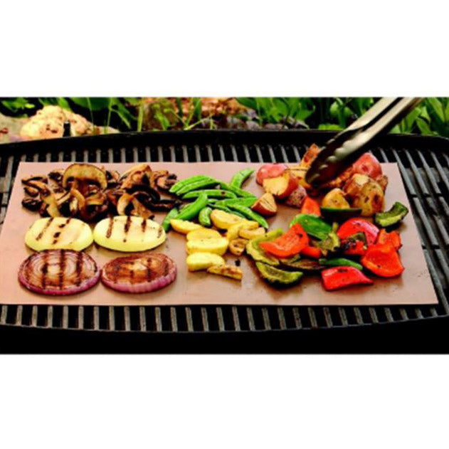 Daily Steals-Yoshi Copper Grill & Bake Mats - 2 Pack-Kitchen Essentials-