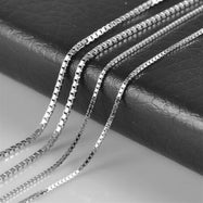 Italian Sterling Silver Necklaces-Daily Steals