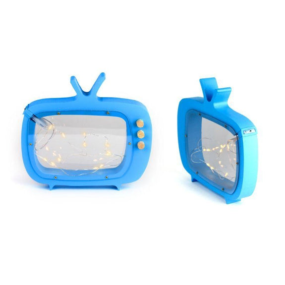 Decorative Wooden Table Night Light for Kids-Tv-
