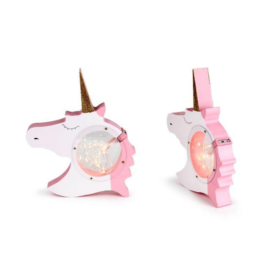 Decorative Wooden Table Night Light for Kids-Unicorn-