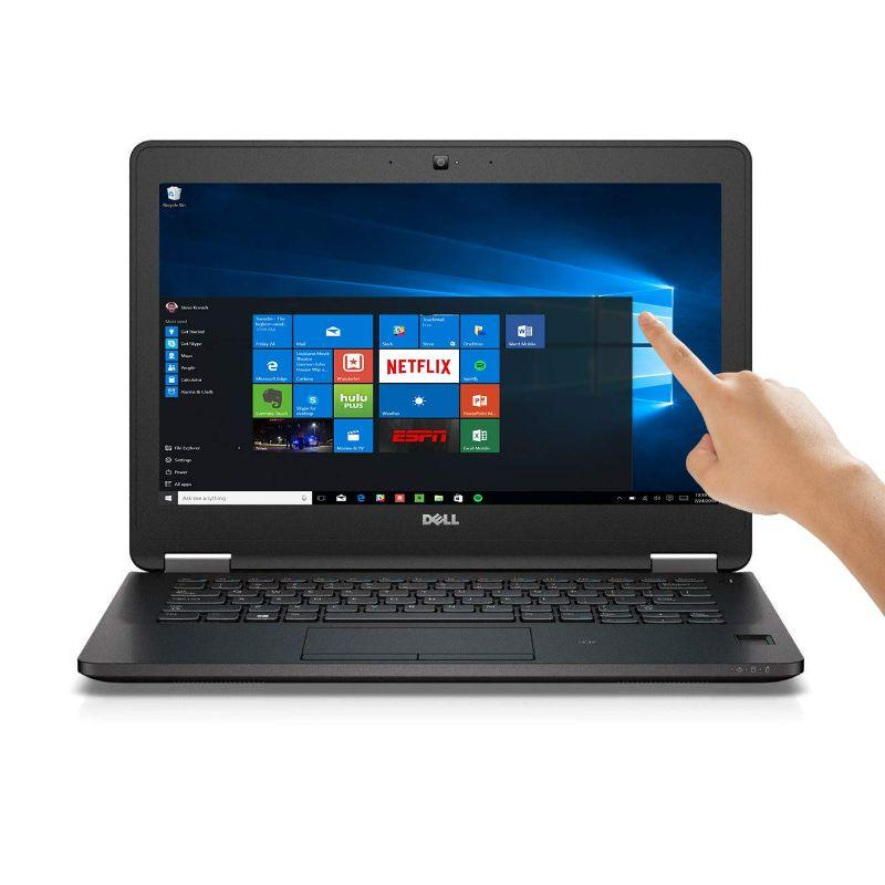 "Daily Steals-Dell Latitude E7270 12.5"" Touchscreen, Camera I7-6600U 2.6GHZ 8GB 512GB-Laptops-"