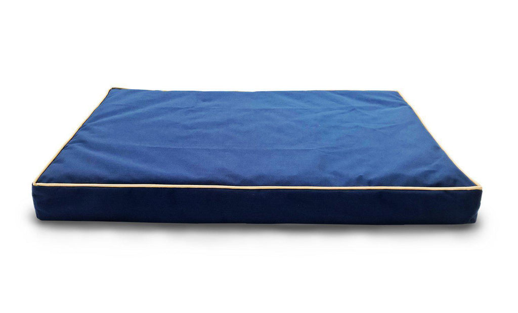 Daily Steals-Deluxe Indoor/Outdoor Water-Resistant Orthopedic Pet Bed-Pets-Blue-S-