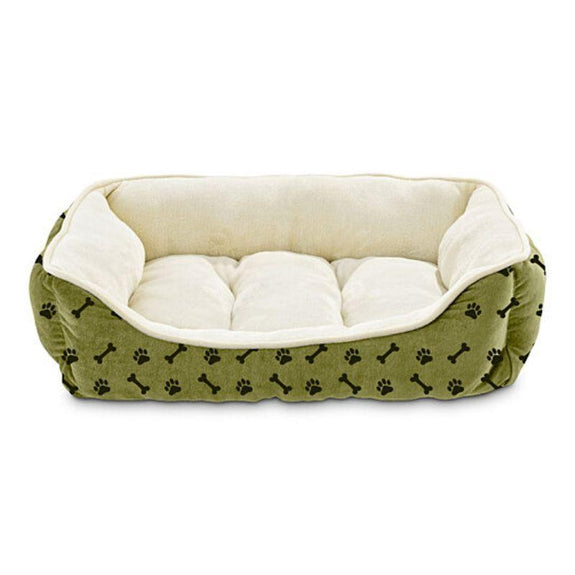 Deluxe Ultra-Soft Hypoallergenic Cuddler Pet Bed-Sage Green-