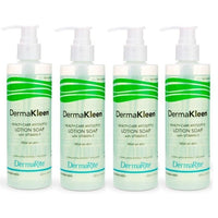 DermaKleen Antibacterial Alcohol Free Liquid Sanitizing Soap (7.5 oz)- 4 Pack-