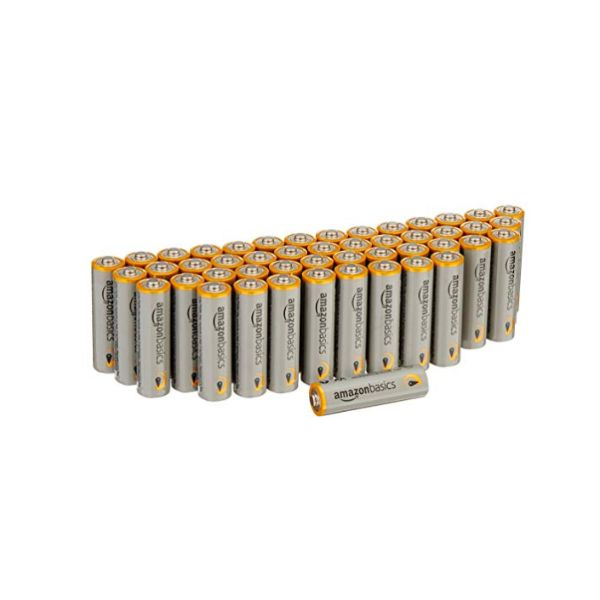 AmazonBasics AA or AAA Performance Alkaline Batteries-AA - 48 COUNT-Daily Steals