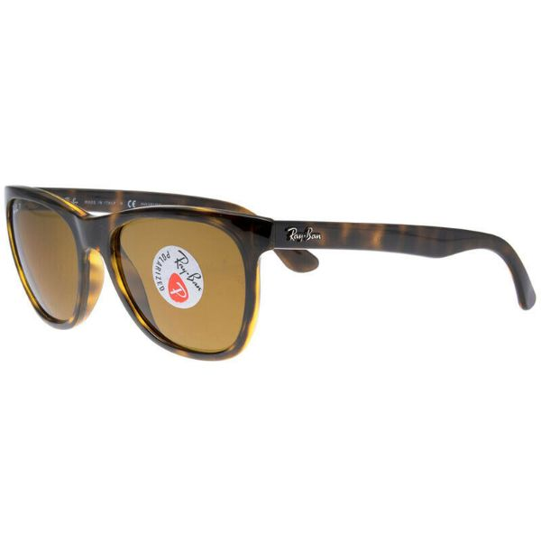 Ray-Ban RB4184 710/83 Polarized Sunglasses Havana Tortoise/Brown Classic-Daily Steals