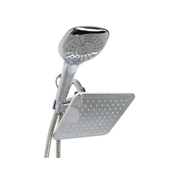 Sunbeam Chrome Dual Massager Shower Head-Daily Steals