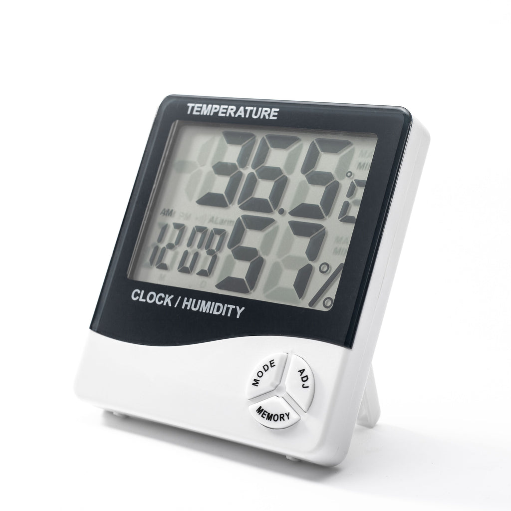 update alt-text with template Daily Steals-Large Display Digital Alarm Clock with Temperature and Humidity Sensors-Home and Office Essentials-