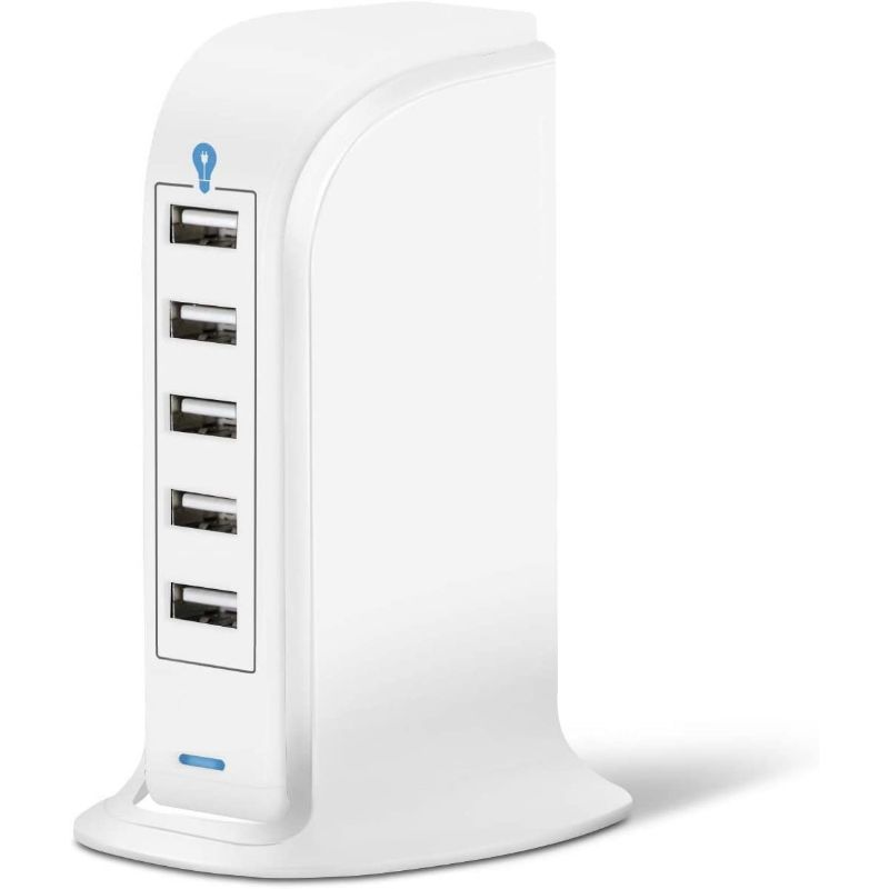Universal 20W 5-Port USB Wall Charger
