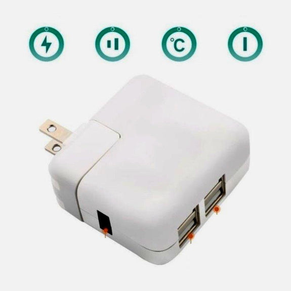 4-Port USB 40W Universal Wall Charger-Daily Steals