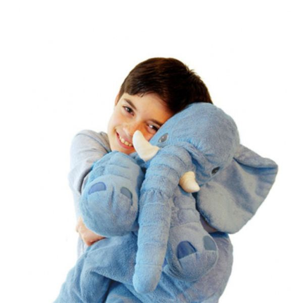 Plush Stuffed Elephant Soft Cuddle Pillow - 2 Colors-Daily Steals