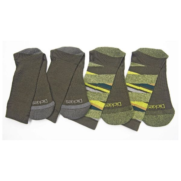 Daily Steals-Dickies Men's Action Crew Performance Socks - 6 Pack-Accessories-