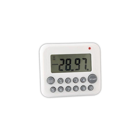 Digital Magnetic Kitchen Timer with Magnet Back and Clip-