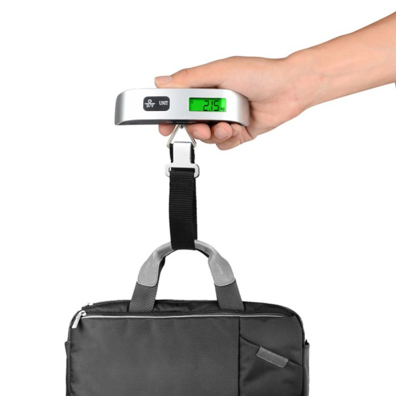 Digital Display Luggage Scale for Travel - 2 Pack-Daily Steals