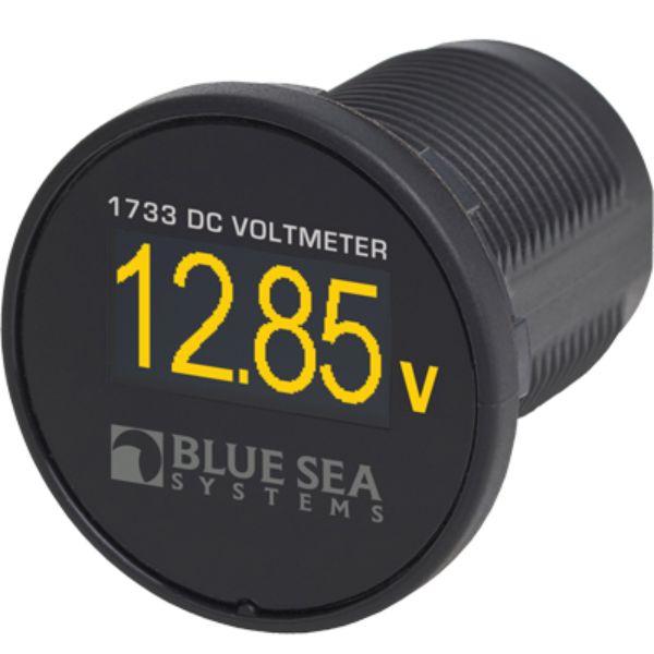 Digital Meter, Mini OLED, DC Volts By Blue Sea Systems-Daily Steals