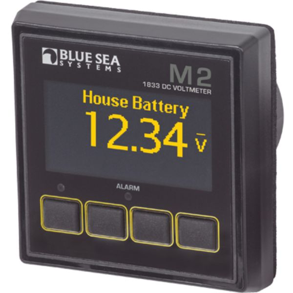 Digtal Meter, M2 OLED, DC Voltage By Blue Sea Systems-Daily Steals