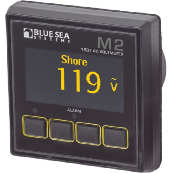Digtal Meter, M2 OLED, AC Voltage By Blue Sea Systems-Daily Steals