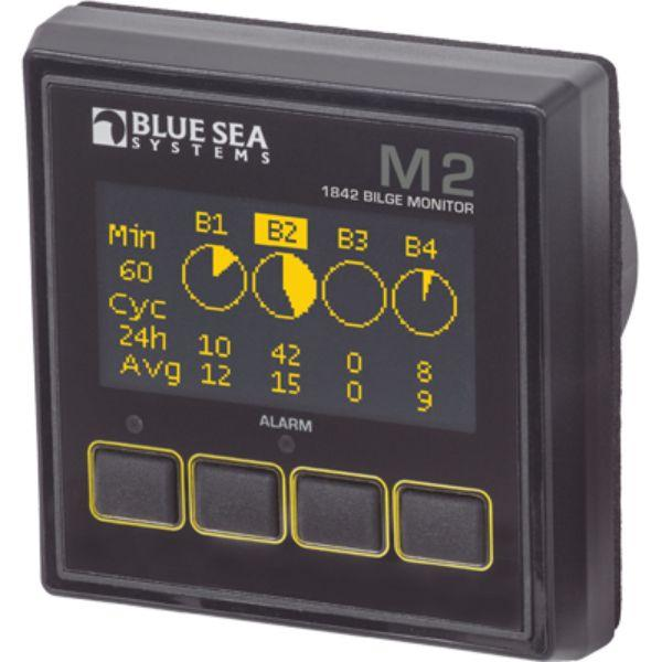 Daily Steals-Digtal Meter, M2 OLED, Bilge Monitor By Blue Sea Systems-Marine-