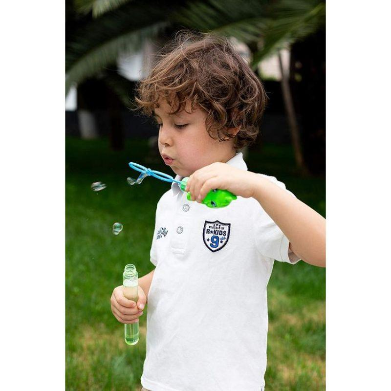 "Dinosaur Blowing Bubble Wands, 11"" - 12 Pack-"