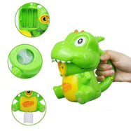 Dinosaur Bubble Blower Machine with Solution-
