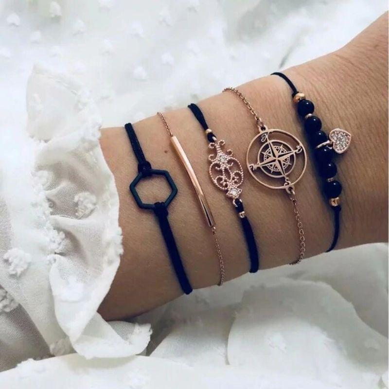 Discovering the Ocean Bracelet Set - 5 Pieces-Daily Steals