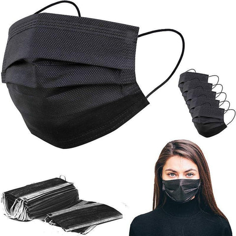 50-Pack Disposable 3PLY Face Masks
