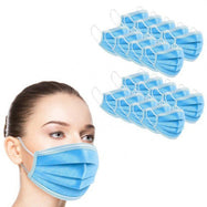 Disposable Non-Medical 3-Ply Face Masks - 100 Pack-Daily Steals