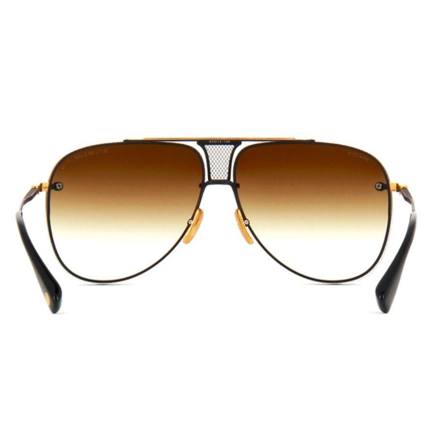 Lunettes de soleil DITA - Decade TWO Aviator - Black & 18k Gold-Daily Steals