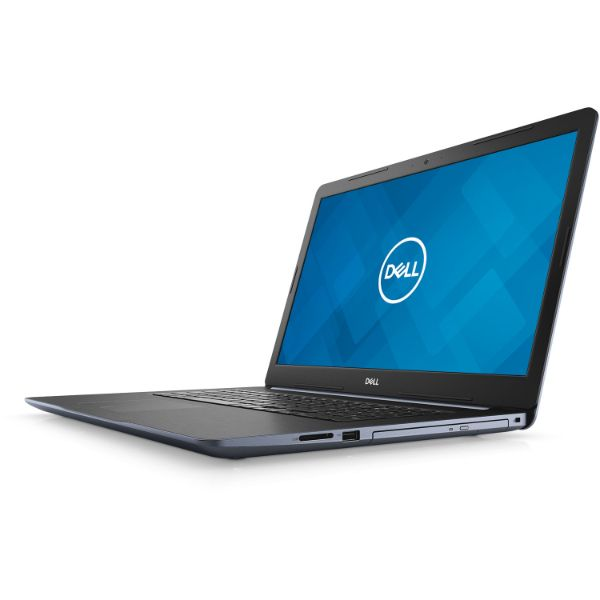 "DELL 17.3"" laptop, FHD 8GB/1TB/finger prt reader/DVDRW/CAMERA, AMD RYZEN3 2200U, BLUE-Daily Steals"