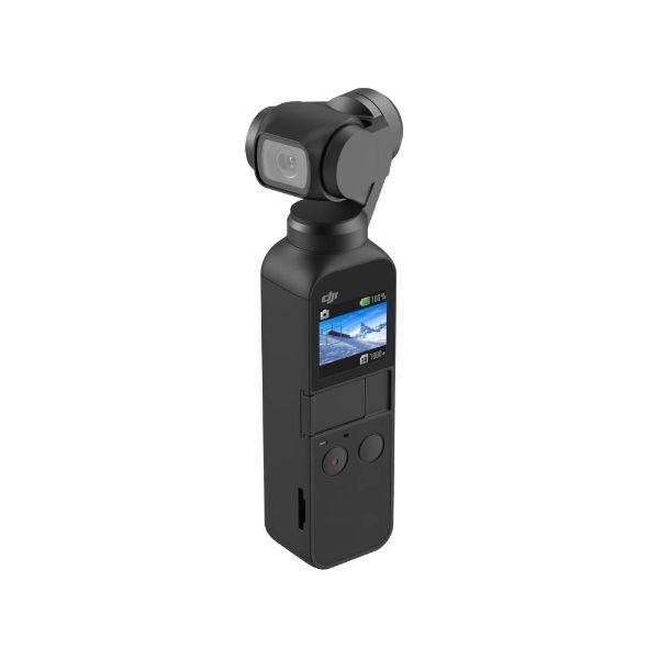 DJI Osmo Pocket Handheld 3 Axis Gimbal Stabilizer with integrated Camera-