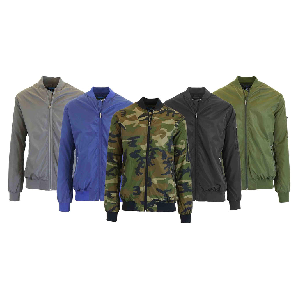 Men's Lightweight Windbreaker Jacket-Daily Steals