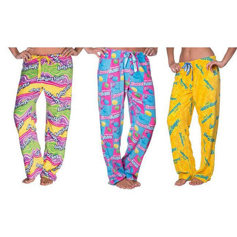 update alt-text with template Daily Steals-Nestle Plush Lounge Pants (Plus Size Available)-Women's Apparel-Small-Laffy Taffy-