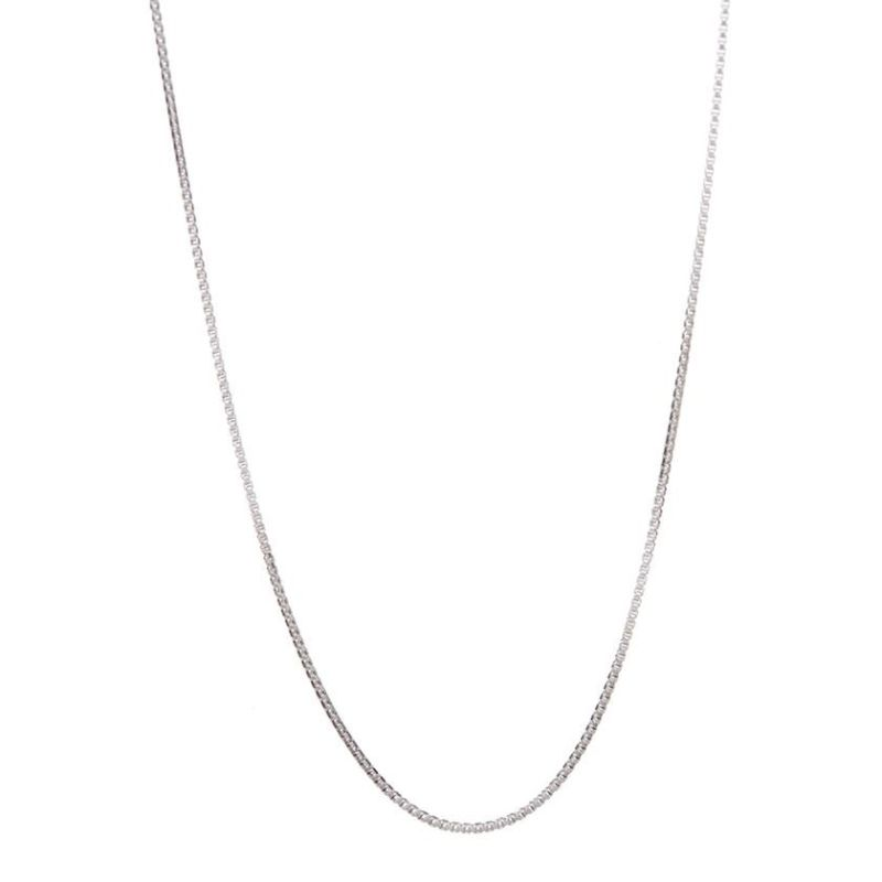 Italian Sterling Silver Box Chain-Daily Steals