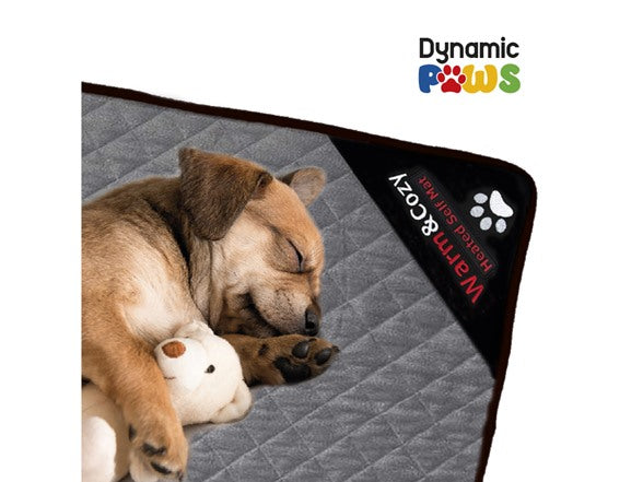 Self Heating Quilted Dog Mat, 21x35in