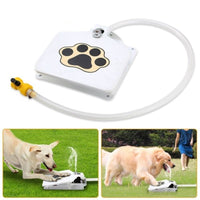 Outdoor Dog Water Fountain, Pet Fountain with Adjustable Pressure