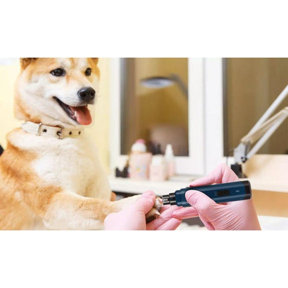 Dog/Pet Nail Grinder, 2 Speeds, Quiet, USB Rechargeable, Cordless-