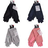 Cable Knit Womens Touch-Screen Winter Gloves-Daily Steals