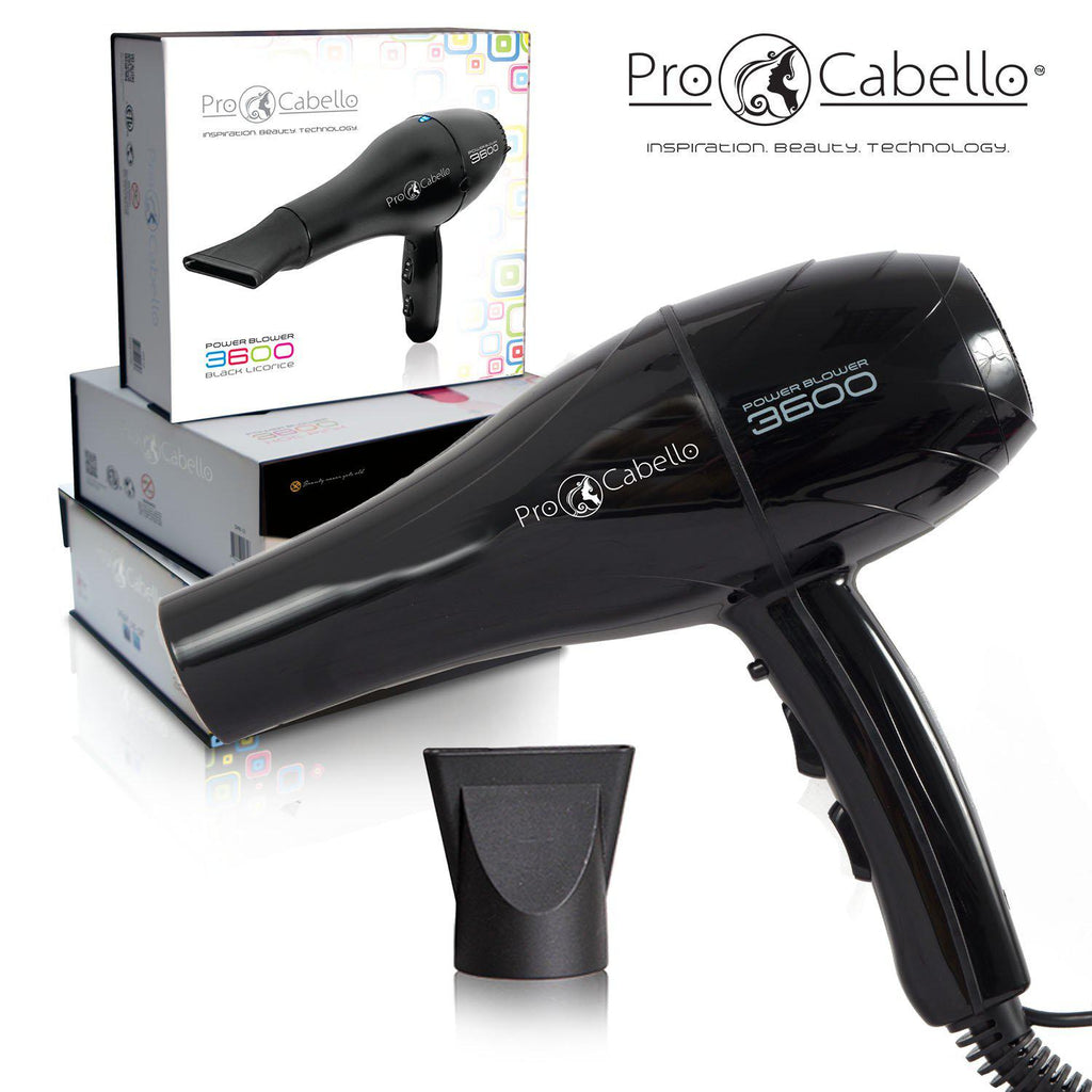 ProCabello 3600 Power Hair Dryer with Tourmaline Technology