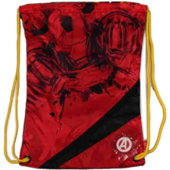 Marvel Drawstring Backpacks-Iron Man-Daily Steals