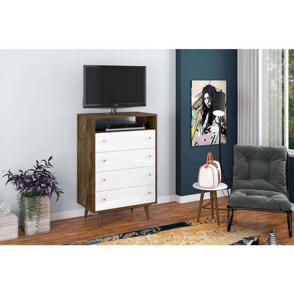 Liberty 4-Drawer Bedroom Dresser and TV Stand-Daily Steals