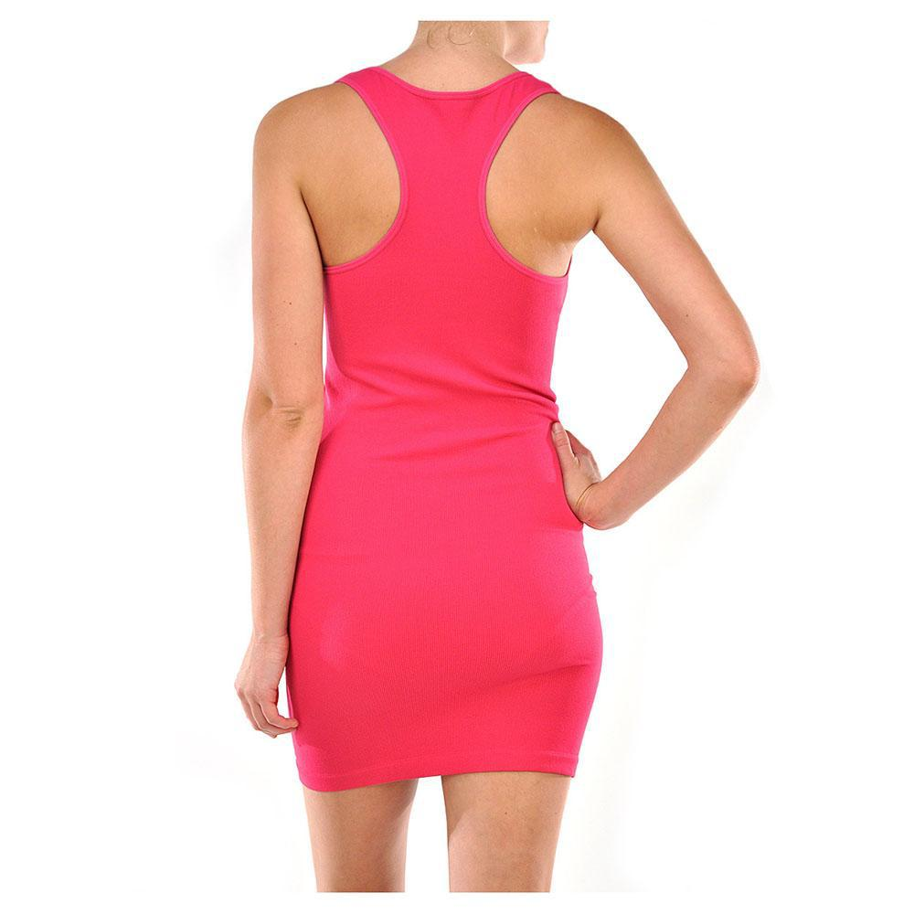 Smooth & Stretchy Racerback Wide Straps Round Dress - Unisize-Daily Steals
