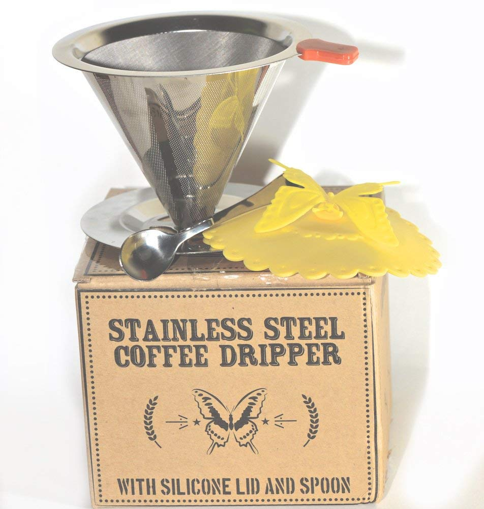 Stainless Steel Pour Over Coffee Dripper-Daily Steals