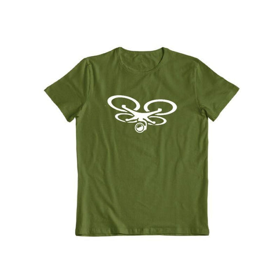 Drone Camera T-Shirt-Vert Militaire-S-Daily Steals