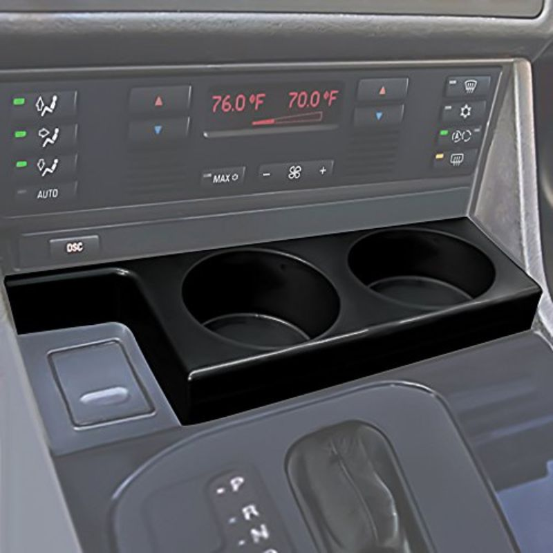 Dual Cup Holder Insert For 97-03 BMW-Daily Steals