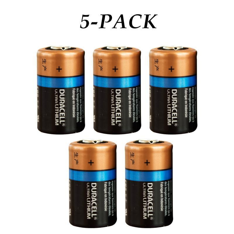 Daily Steals-Duracell 3-Volt High-Performance Long-Lasting Lithium CR2 Batteries - 5 Pack-Batteries-